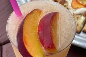 Peach Slushie